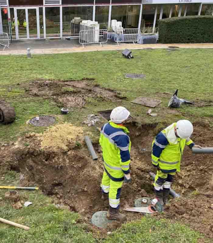 Installation fosse septique à Essonne